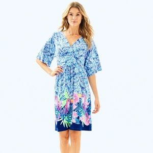Lilly Pulitzer Parigi Dress Bennet Blue Lets Mango